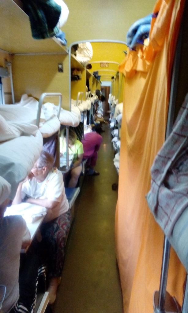Život ve vlaku na transsibiřské magistrále