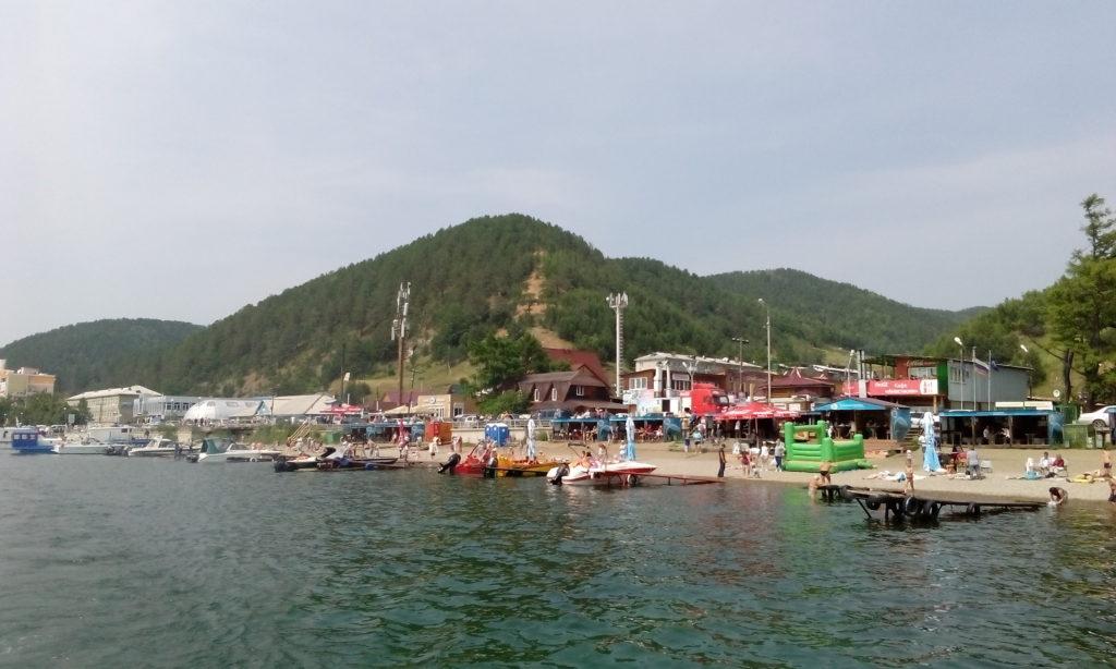 Z města Irkutsk k jezeru Bajkal