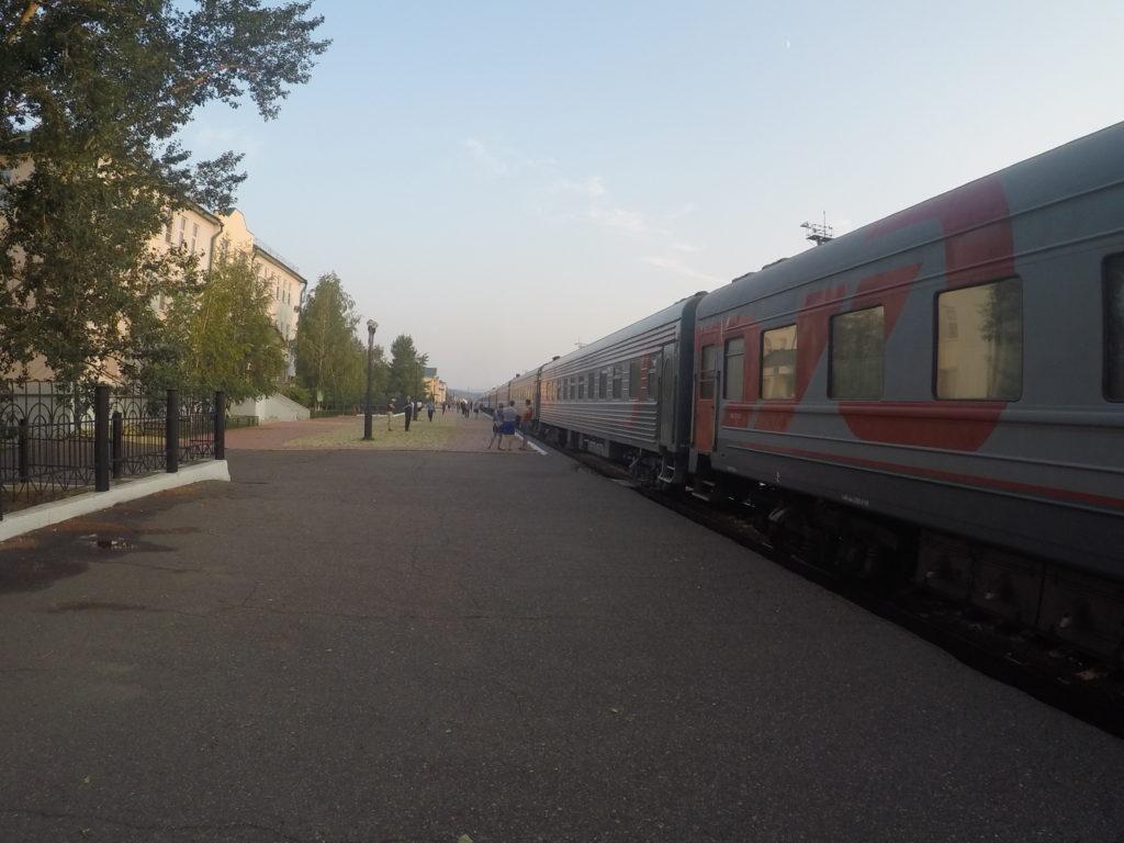 Cesta z Irkutsku do Mongolska