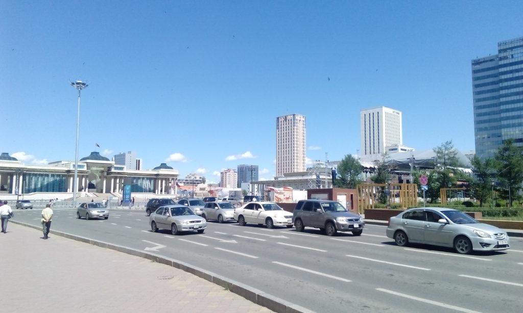 Čingischánovo náměstí