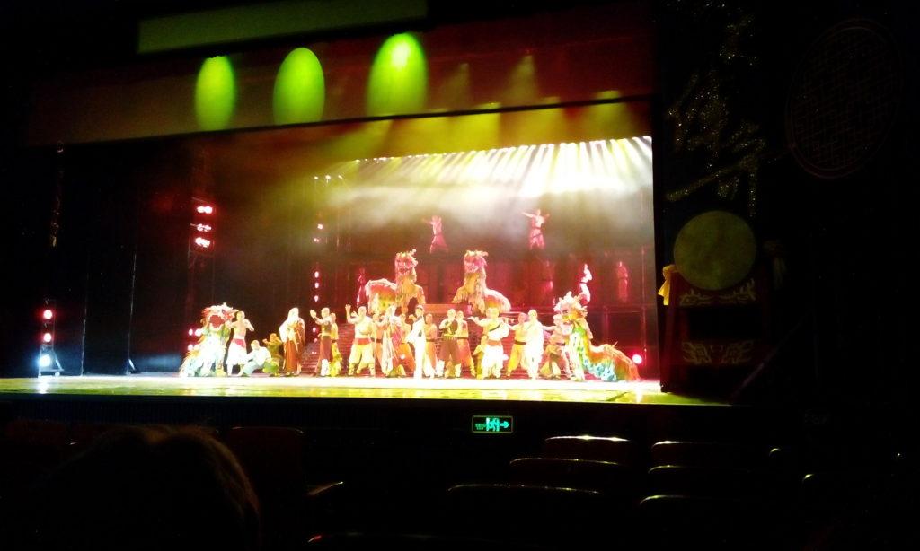 Čínský hot pot a šaolinské představení