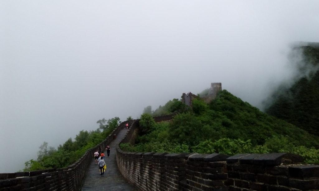 Velký čínský podvod a zeď