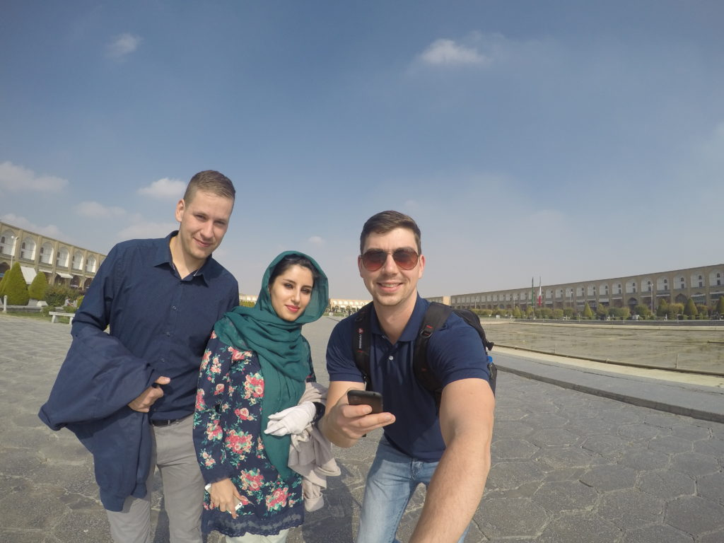 Dorazili jsme do Isfahánu!