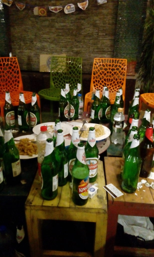 První (pivní) večer v Novém Dilí