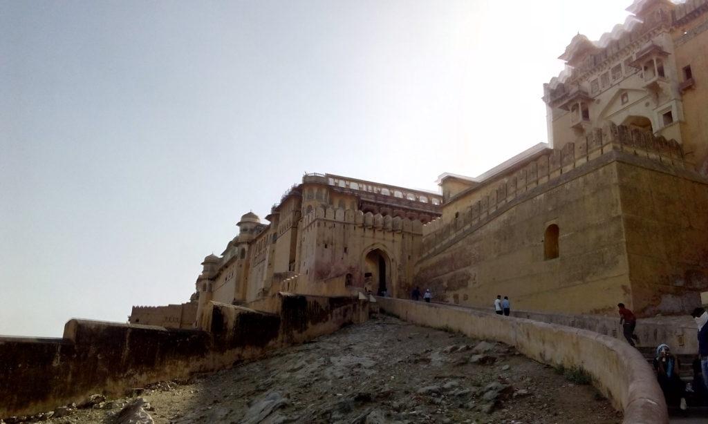 Indická pevnost Amber
