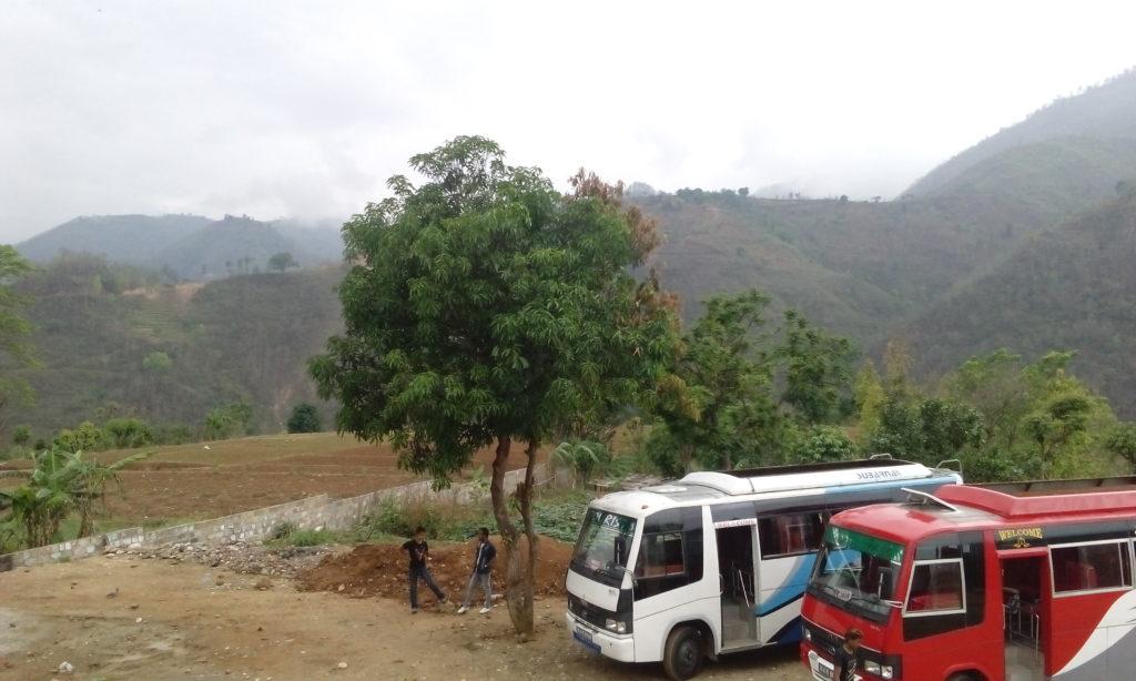 Klikatá cesta z Káthmándú do Pokhary