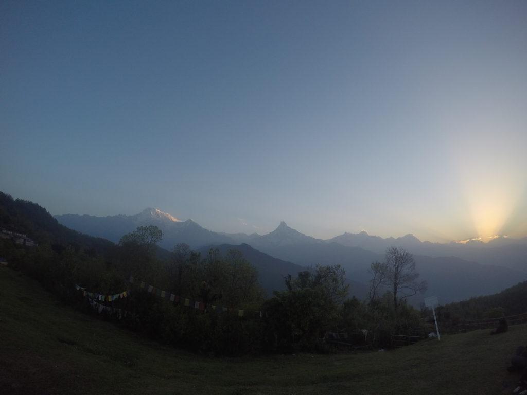 Dobré ráno Annapurno!