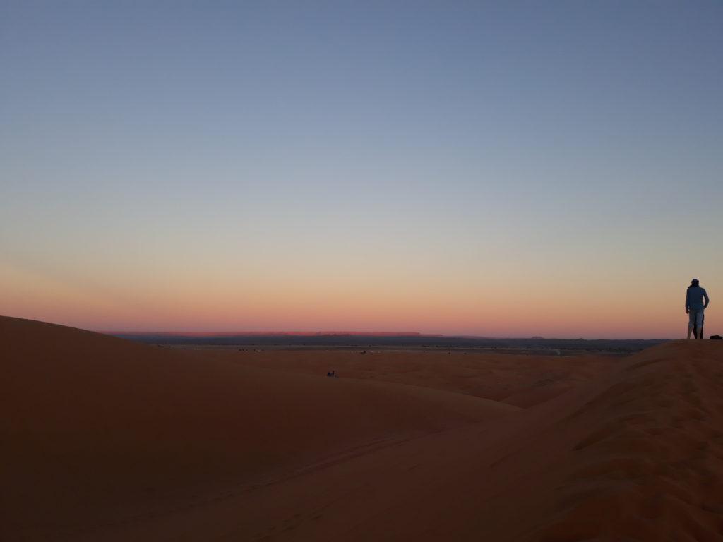 Mrazivá noc na Sahaře