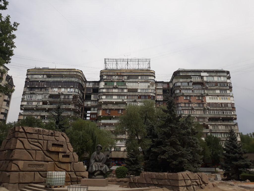 Almaty, náš začátek Hedvábné stezky