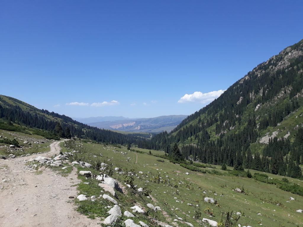 Bažiny kyrgyzských hor
