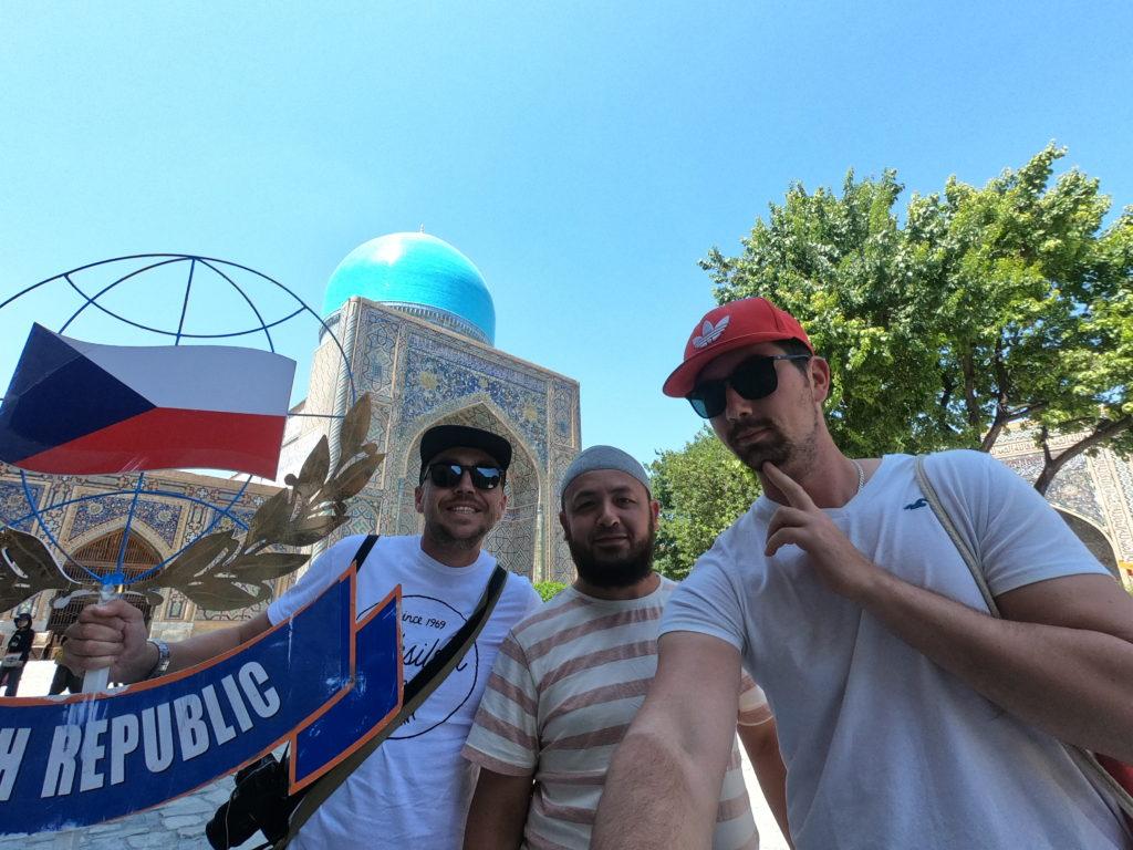 Šachy a Samarkand!