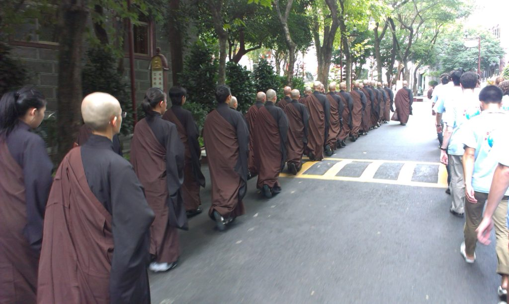 Život v buddhistickém klášteře (III.)