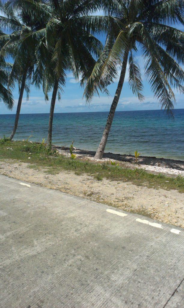 Filipíny s batohem